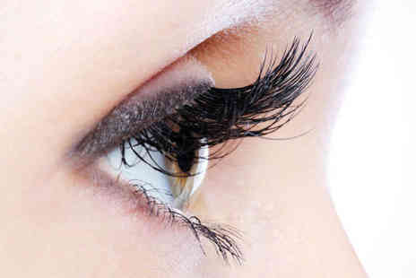 White Haus Hair and Beauty - Eye Tint Package Including Eyebrow Shape and Tint and Eyelash Tint, Shellac Nails Facial and Massage - Save 51%