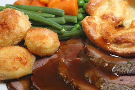 The Sophie Dawes - Saturday or Monday Roast Meat Carvery for Two People - Save 50%