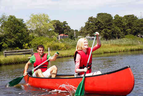 Go Country - Choice of Two Outdoor Activities from Archery Canoeing and Mountain Biking for Two People - Save 60%
