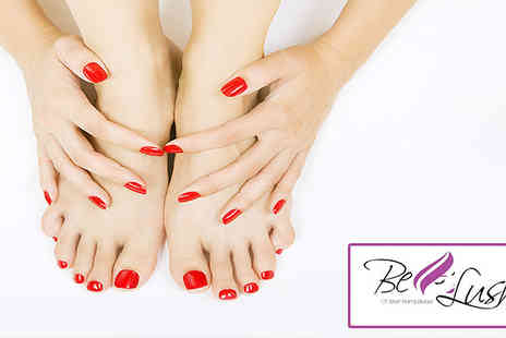 Be Lush NW6 - Shellac manicure and pedicure - Save 62%