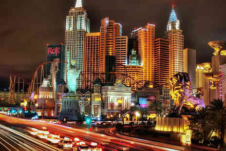 Jetline Holidays - Four night stay at the Luxor Hotel Including flights in Las Vegas - Save 50%