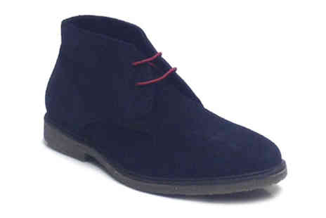 Unze - Mens Casual Suede Chukka Desert Boots - Save 47%