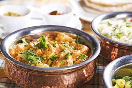 Ashoka at the Quay - Curry and Rice For Two  - Save 68%