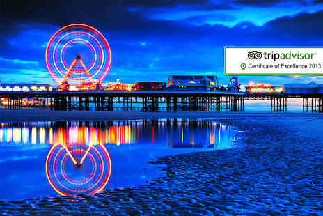 Sandford Promenade - Two night Blackpool stay for 2 including breakfast  - Save 46%