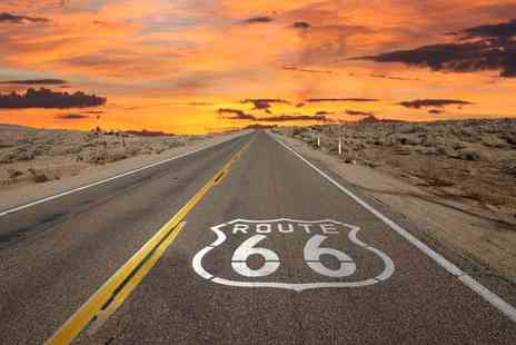 Independent World Choice Holidays - 14 night Route 66 road trip incluidng return flights - Save 50%