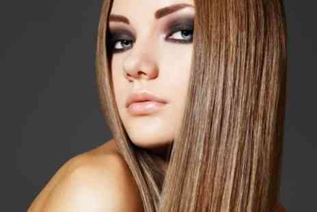 G Salons Keratin Centre - Brazilian keratin blow dry treatment  - Save 79%
