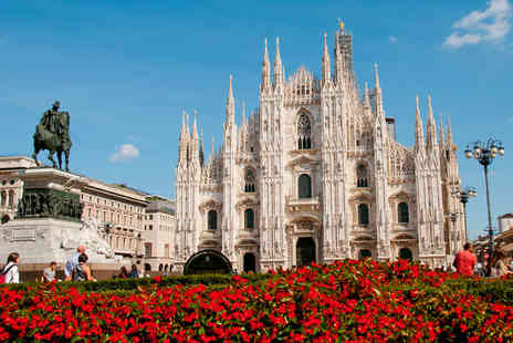 Airbridge Travel - Two night Milan break for 2 including flights - Save 45%