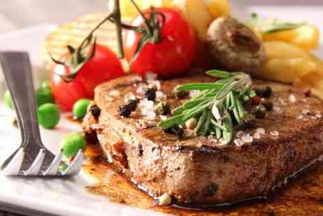 Ye Olde Toll House Restaurant -  Steak Meal With Bottle of Wine - Save 51%