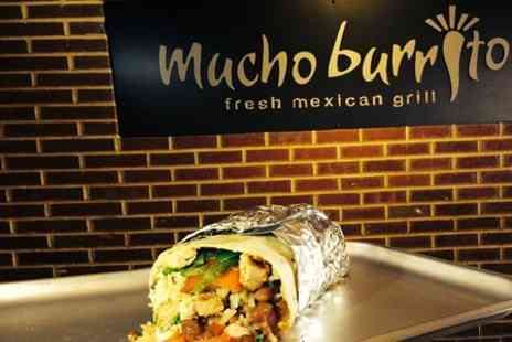 Mucho Burrito - Hand Rolled Burrito For One  - Save 47%