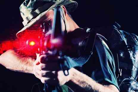 Sheffield Laser Tag - Outdoor Experience  - Save 70%