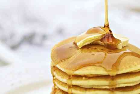 Dr Foxs Tea Room - Pancakes and Coffee For Two - Save 50%