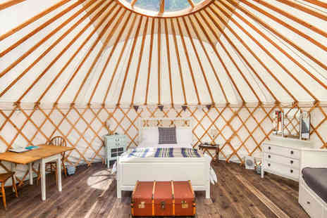 The Yurt Retreat - Get Back to Nature with a Touch of Luxury - Save 44%