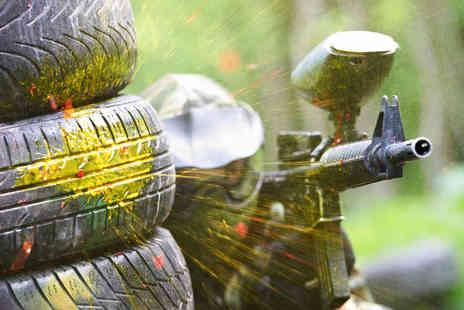 Reaper Paintball - Paintballing Experience with 100 Paintballs for Two - Save 58%