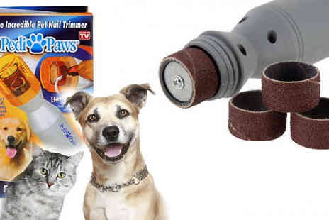 Something Great - Save on unwanted stress for you and your pets with the pet nail grinder trimmer - Save 50%