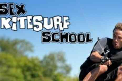 Essex Kite Surf School - Two Hour Power Kite Surfing Lesson For One - Save 70%
