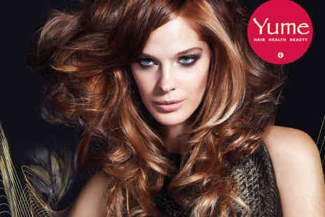 Yume - Haircut, Blow Dry and Redken Intensive Treatment or Half Head of Highlights, Haircut or Blow Dry - Save 68%