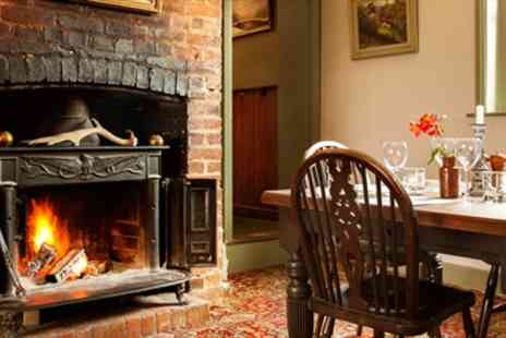Sportsman Inn - Three Course Meal for Two with Arun Valley Views - Save 46%