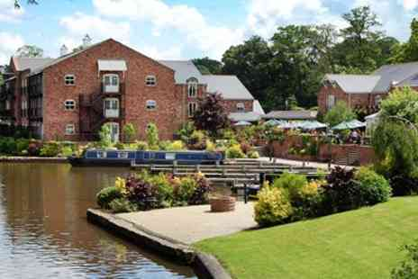Lion Quay Waterside - Shropshire Waterside Canal Stay with Dinner - Save 42%