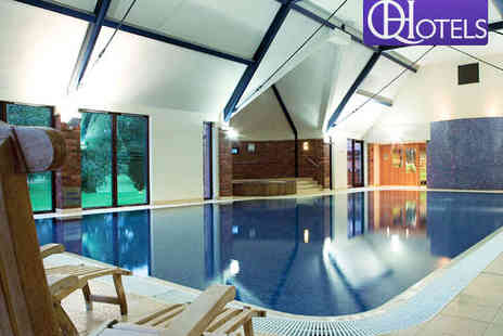 Aldwark Manor Golf & Spa Hotel - Spa Pass for Two with Hot Drink and Pastry Each  - Save 81%