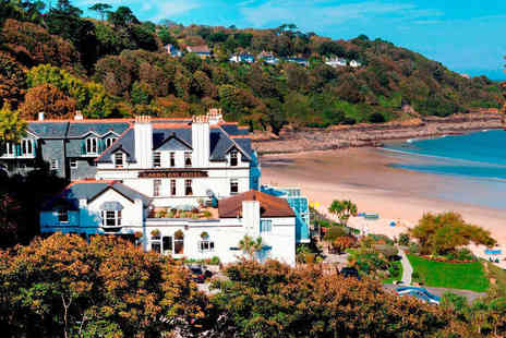 Carbis Bay Hotel - One Night Stay for Two with Five Course Dinner - Save 46%
