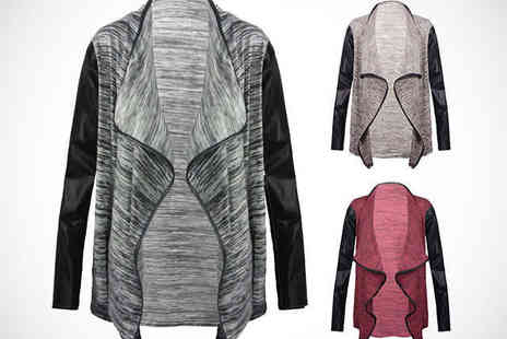 MYO Fashion - Waterfall Cardigan in Choice of Colours  - Save 60%