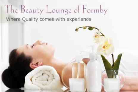 The Beauty Lounge of Formby - Seaweed Body Wrap, Back Massage and Facial for £29 - Save 75%