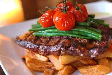 The Ivory Rooms - Steak Dinner for Two in Essex Gem - Save 56%