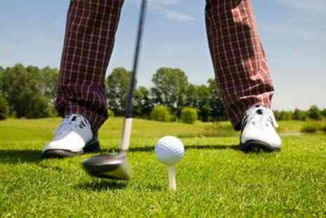 Malkins Bank Golf Club -  Day of golf with 20 balls for the driving range - Save 50%