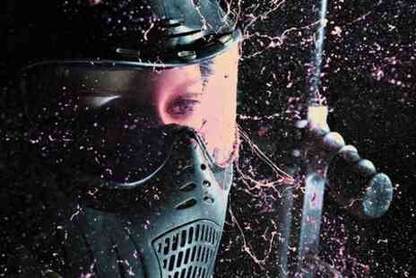 THE VILLAGE - Indoor Paintballing For Ten People With 100 Paintballs - Save 95%