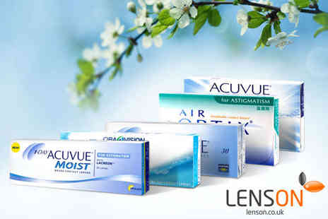 LensOn - Spend on Contact Lenses - Save 53%