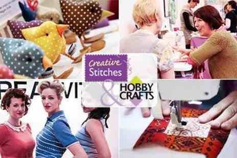 One Voice - Tickets for The Creative Stitches and Hobbycrafts Show 3 to 5 April 2014 - Save 50%