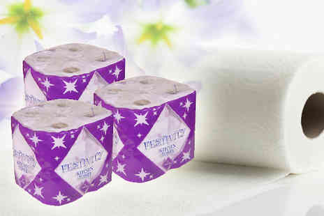 Pamper Me Store - Bumper pack of Festivity Kitchen Rolls - Save 63%