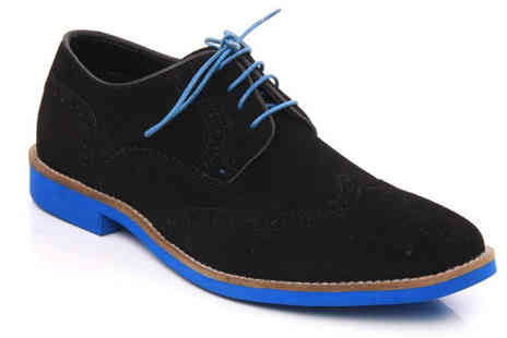 Unze - Mens Suede Brogues - Save 46%