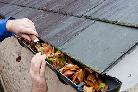 HMS Property - Gutter cleaning and maintenance service - Save 79%