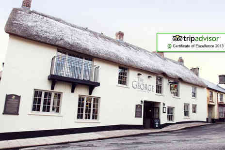 The George Okehampton - One night stay for 2 including breakfast - Save 46%