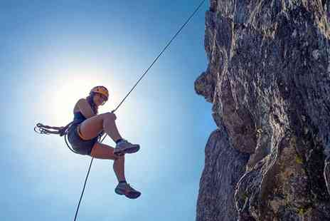 3xtreme - Four hour rock climbing and abseiling experience - Save 68%