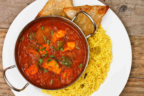 Ashiana Indian Restaurant - Two course Indian meal for two  - Save 61%