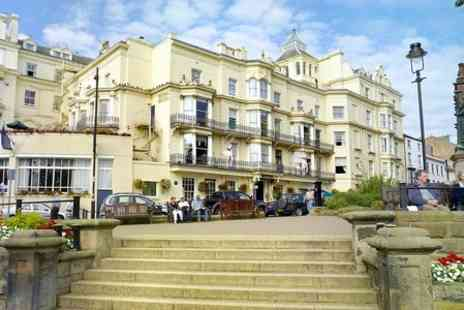 The Royal Hotel Scarborough - Two Nights For Two With Breakfast and Wine - Save 35%