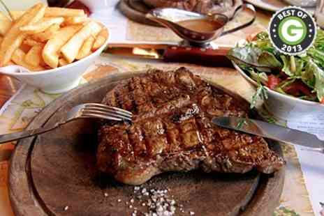 Kings Arms - Rib Eye Steak With Sides  - Save 56%