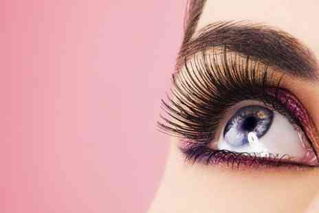 Mews Beautique - Full Set of Eyelash Extensions Plus Eyebrow Shape - Save 69%