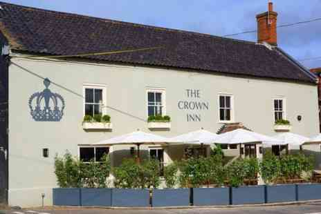 The Crown Inn - One Night Stay For Two With Breakfast  in North Norfolk - Save 35%