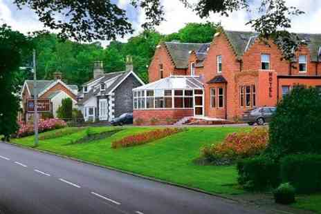 The Abington Hotel - OneNight Stay For Two With Dinner, Wine and Breakfast in Lanarkshire - Save 56%