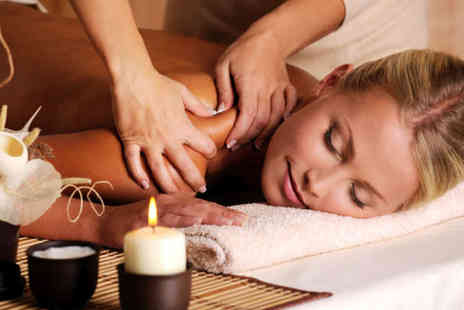 Beauty Beehive - Hour Long Aromatherapy  Swedish or Warm Bamboo Massage with Mini Facial - Save 70%