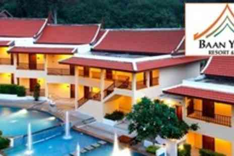 Baan Yuree Phuket Resort - Five Nights For Two With Breakfast and Pool Scuba Experience - Save 66%