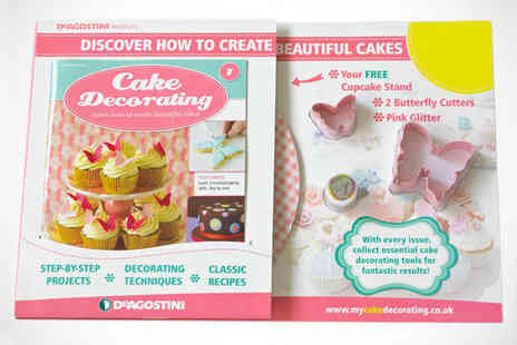 Cake Decorating Magazine Course - Subscription to Cake Decorating Magazine Including First Five Issues Plus Tools - Save 46%
