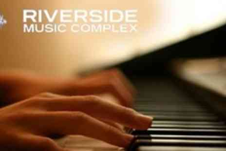 Riverside Music Complex - Three 60 Minute Private Music Lessons - Save 60%