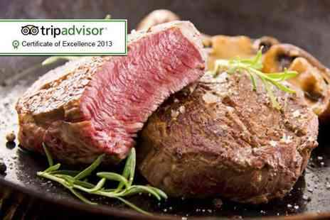 Hale Kitchen & Bar - Chateaubriand steak meal for 2 including a Champagne cocktail - Save 63%