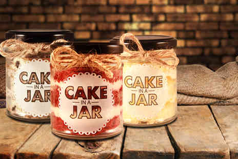 Cake in a Jar - Five unique Cake in a Jar desserts  in a choice of flavours - Save 48%