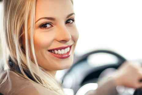 Stunt Drive Experience - Stunts and Beauty Package For Women - Save 50%