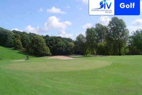 Sheffield International Venues Golf - 18 Holes of Golf for Two on a Weekday  - Save 54%